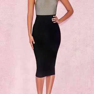Lady Zipper Skirts Bodycon Skirt