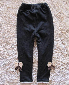 Warm Cotton Children Elastic Jeans