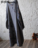 YoYiKamomo Cotton Linen Dress