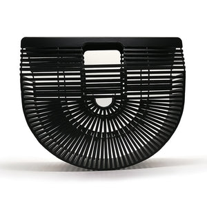 Hollow Out Casual Bamboo Clutch