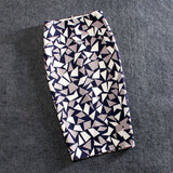 Casual Print Pencil Skirt Stretchy
