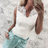 Summer Lace Tank Top