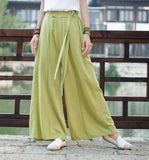Color Cotton Pants