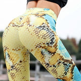 Snake Skin Push Up Leggings