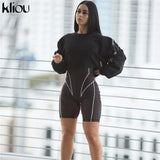 Turtleneck Long Sleeve Playsuit