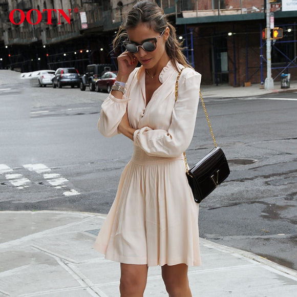 Long Sleeve Tunic Mini  Dress