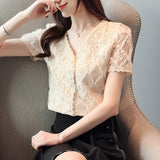 Ladies Short Sleeve Blouse