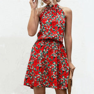 Floral Summer Elegant Casual Dress
