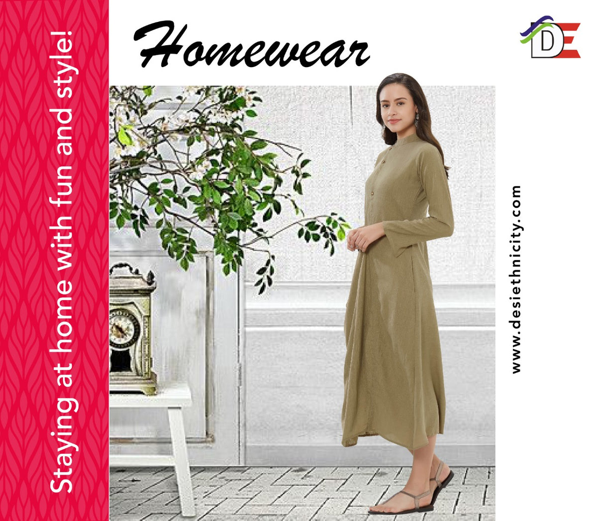 Homewear -Staying at home with fun and style!