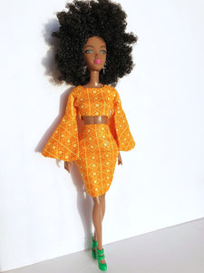 Sunset doll| Miss Shabazz