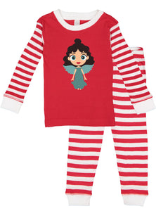 Kritter Christmas Angels Infant/Toddler Pajamas - Diversity - Kritter Haus