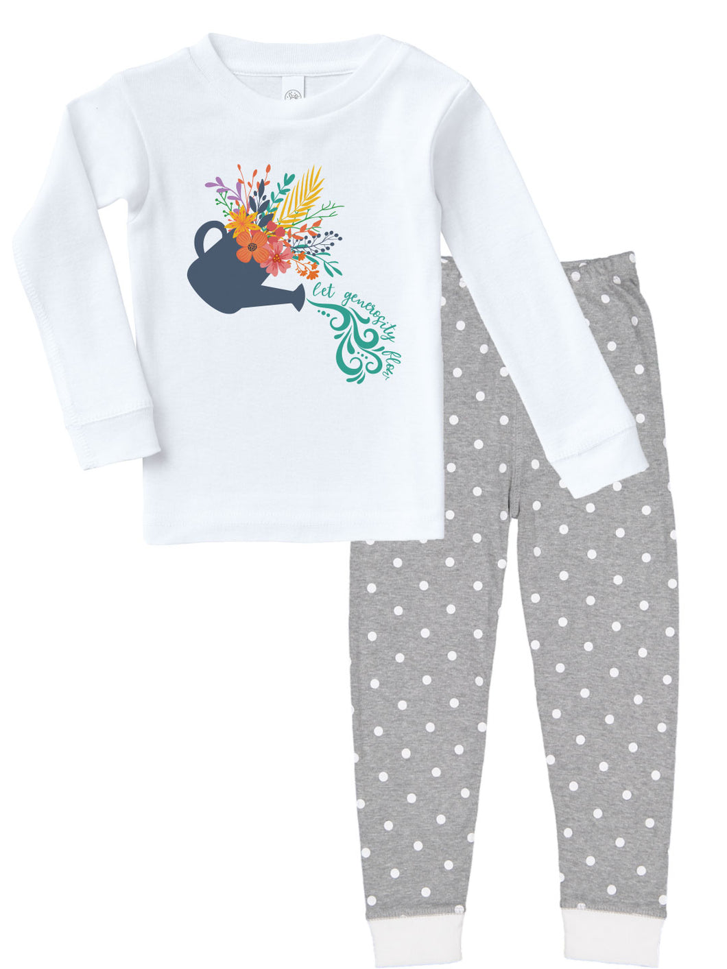 Kritter Harvest Pour Generosity Infant/ Toddler Pajamas - Kritter Haus