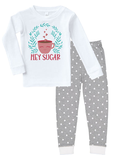 Hey Sugar Tea & Coffee Funny Infant/Toddler Pajamas - Kritter Haus