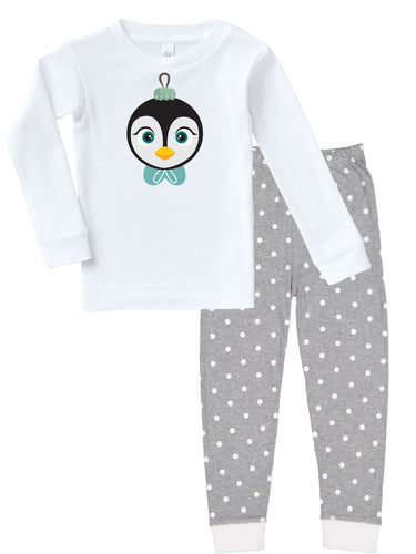 Kritter Christmas Penguin Ornament Infant/ Toddler Pajamas - Kritter Haus
