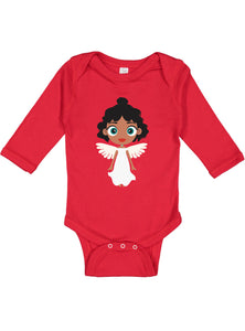 Kritter Christmas Arctic Angel Long Sleeve Bodysuit - Kritter Haus