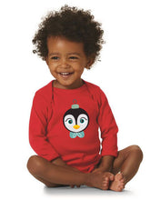 Load image into Gallery viewer, Kritter Christmas Penguin Ornament Long Sleeve Bodysuit - Kritter Haus