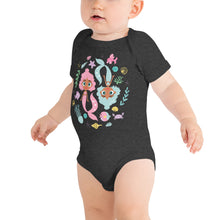 Load image into Gallery viewer, Kritter Mermaid Graphic Baby Bodysuit - Kritter Haus