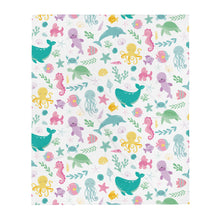 Load image into Gallery viewer, Kritter Sea Animals Throw Blanket - Kritter Haus