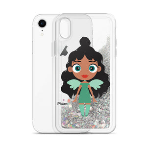 Kritter Christmas Angel Liquid Glitter Phone Case - Kritter Haus