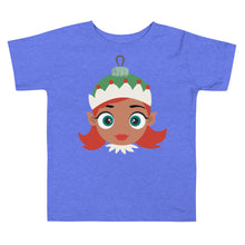 Load image into Gallery viewer, Kritter Christmas Elf Girl Ornament Toddler T-shirt
