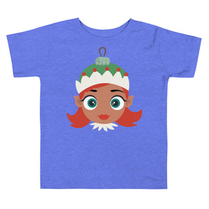 Kritter Christmas Elf Girl Ornament Toddler T-shirt - Kritter Haus
