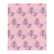 Load image into Gallery viewer, Kritter Mermaid Throw Blanket- Blue Pink - Kritter Haus