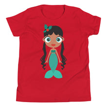 Load image into Gallery viewer, Kritter Christmas Mermaid Kids T-shirt