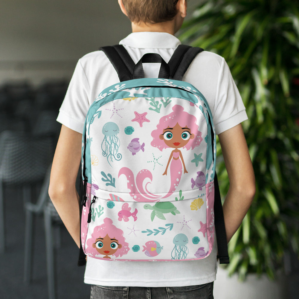 Kritter Mermaid Sea Backpack - Kritter Haus