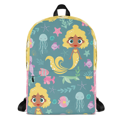 Kritter Mermaid Sea Youth Backpack-Teal - Kritter Haus