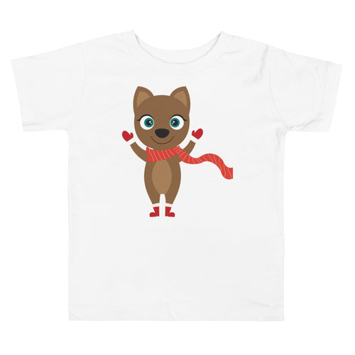 Kritter Christmas Cat Toddler T-shirt