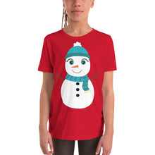 Load image into Gallery viewer, Kritter Christmas Snowman  Kids T-Shirt