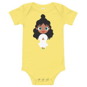 Kritter Christmas Angel Baby Bodysuit