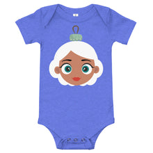 Load image into Gallery viewer, Kritter Christmas  Mrs Claus Ornament Baby Bodysuit - Kritter Haus