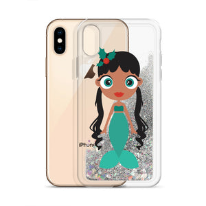Kritter Christmas Mermaid Liquid Glitter Phone Case - Kritter Haus