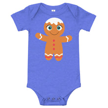 Load image into Gallery viewer, Gingerbread Kritter Christmas Baby Bodysuit