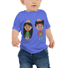 Load image into Gallery viewer, Christmas Elf Baby Short Sleeve Tee