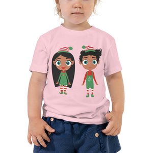 Christmas Elf Toddler Short Sleeve Tee