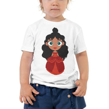 Load image into Gallery viewer, Kritter Christmas Princess Toddler T-shirt
