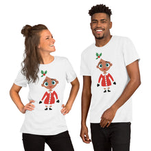 Load image into Gallery viewer, Kritter Christmas Mrs Claus Adult Unisex T-Shirt - Kritter Haus