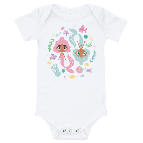 Kritter Mermaid Graphic Baby Bodysuit - Kritter Haus