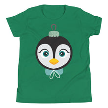 Load image into Gallery viewer, Kritter Christmas Penguin Kids T-Shirt - Kritter Haus