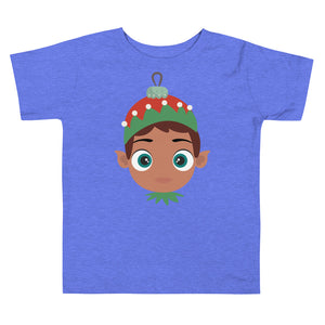 Kritter Christmas Elf Boy Toddler T-shirt