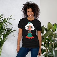 Load image into Gallery viewer, Kritter Christmas Snow Princess Adult  T-Shirt