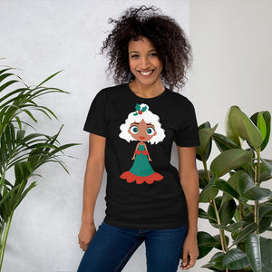 Kritter Christmas Snow Princess Adult  T-Shirt