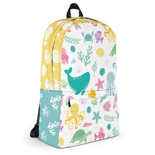 Load image into Gallery viewer, Kritter Sea Animals Graphic Backpack - Kritter Haus