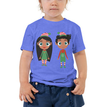 Load image into Gallery viewer, Christmas Elf Toddler Short Sleeve Tee - Kritter Haus
