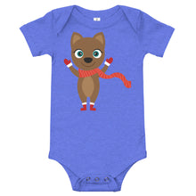 Load image into Gallery viewer, Kritter Christmas Cat Baby Bodysuit - Kritter Haus