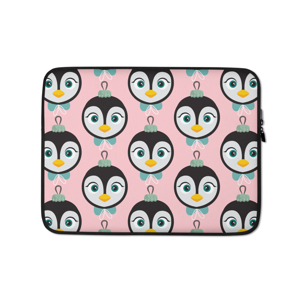 Kritter Christmas Penguin Ornament Laptop Sleeve - Kritter Haus