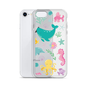 Kritter Mermaid Pattern iPhone Case - Kritter Haus