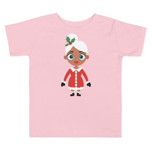 Kritter Christmas Mrs Claus Toddler T-shirt